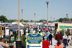 Rogers Community Auction and Open Air Market is the largest in the tri-state area.