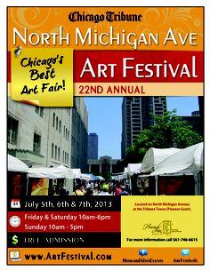 #art #fest #artfair #Chicago #Illinois #tribunetower #Michiganavenue #downtownchicago #July5-7,2013 #weekend #nbctower www.artfestival.com