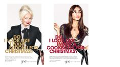 'Do I look like I want a Cookbook for Christmas?' - ghd's Christmas campaign by Atelier