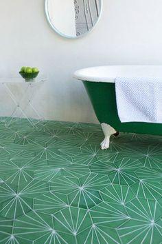 Go Green - 16 Times Tile Made The Room - Photos