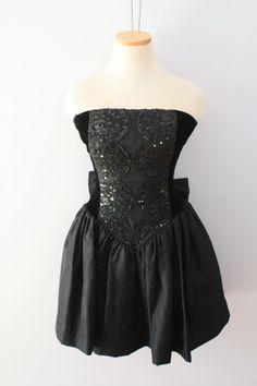 Vintage 80's Prom Dress Short Gunne Sax by Jessica McClintock by FriendsonSunday on Etsy, $40.00
