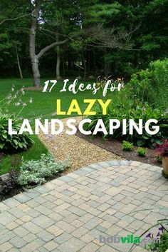Landscaping shouldn't have to take up your whole day. Try these landscaping tricks for a beautiful yard.