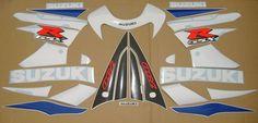 GSX-R 750 2001 full decals stickers graphics kit set k1 labels наклейки adhesivi | eBay