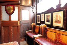 Dublin Pubs-Toners, Baggot Street, lovely award winning snug, a lovely nook to have a quiet drink in!