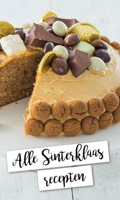 Alle Sinterklaas recepten op een rijtje | LeukeRecepten Dutch Recipes, Sweet Recipes, Baking Recipes, Cookie Recipes, Dessert Recipes, Cakes And More, Love Food, Tapas, Food And Drink