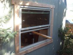 Best Backyard Bar Shed Window Ideas Shed Windows, Pvc Windows, Shed Doors, Wood Storage Sheds, Wood Shed, Backyard Bar, Backyard Sheds, Backyard Chickens, Shed Design Plans