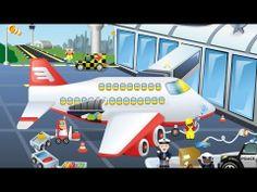 Am Flughafen - Puzzle Spiel App für Kinder von HappyTouch