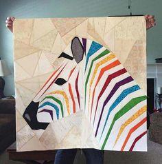 Mega Zebra in Profile