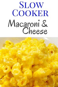 Slow Cooker Macaroni