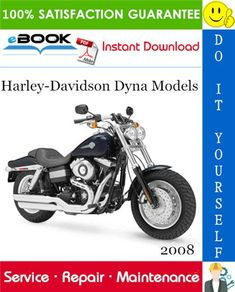 08 Harley-Davidson Dyna Models (FXD, FXDC, FXDL, FXDWG, FXDB, FXDF) Motorcycle Service Repair Manual. COMPLETE Service Guide for the Harley-Davidson Dyna Models (FXD, FXDC, FXDL, FXDWG, FXDB, FXDF) Motorcycle. Production model years 08. It Covers complete tear down and rebuild, images and part diagrams, rpm specs, maintenance, troubleshooting, and so forth. FXD Dyna Super Float, FXDC Dyna Super Float Custom, FXDL Dyna Small Rider, FXDWG Wide Float 105th Anniversary, FXDB Road Bob, FXDF Fat Cha Harley Davidson Images, Harley Davidson Museum, 2008 Harley Davidson, Harley Davidson Sportster, Dyna Super Glide, Dyna Wide Glide, Truck Box Covers, Harley Fat Bob, Dyna Low Rider