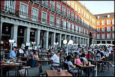Plaza Mayor   Madrid   Spain