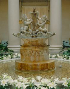 NGA Fountain: Cherubs Playing with a Lyre