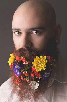 Adorable 54 Fabulous Flower Beards Ideas For Men #Beards #Fabulous #Flower #Ideas #Men