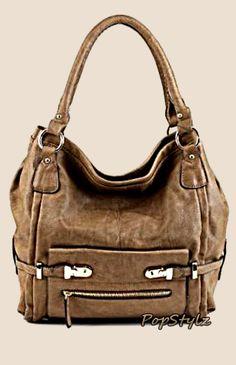 Scarleton Beige Shoulder Handbag