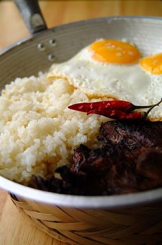 Filipino Tapsilog (by 80 Breakfasts)