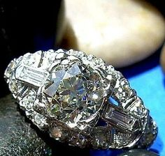 DECO SOLID PLATINUM SOLITAIRE. ANTIQUE PLATINUM NATURAL DIAMOND SOLITAIRE. Typical for the art deco period was likely produced in the 1920s-1930s. Estate diamond platinum solitaire. Any such claim or cause of action must be filed in the Commonwealth of Florida.