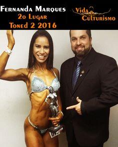 Fernanda, continue com a motivação que te levou até esse troféu. #VidaCulturismo #NABBA2016 #fisiculturismo