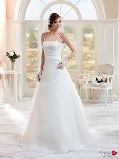Robe de mariée Mlle Mady, robe de mariée simple et chic, robe de mariage bustier…
