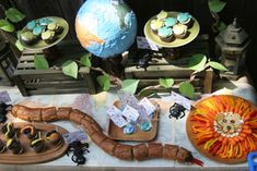 Wild Kratts Party Food - http://www.pbs.org/parents/birthday-parties/wild-kratts-birthday-party/food/