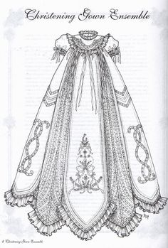 Martha Pullen pattern for gown with full slip - I have this!