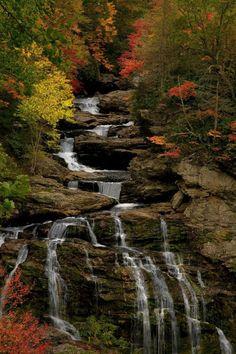 Cullasaja Falls | North Carolina (by Paul Purser)