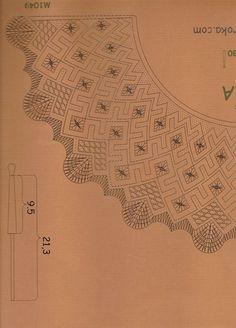 Resultado de imagen de bobbin lace fan pattern Bobbin Lace Patterns, Embroidery Patterns, Lacemaking, Needle Lace, Projects To Try, Stitch, Crochet, Crafts, Inspiration