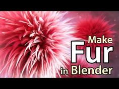 How to Make Fur in Blender - Computer Graphics & Digital Art Community for Artist: Job, Tutorial, Art, Concept Art, Portfolio
