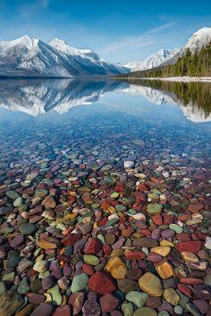Mountain Jewels (Glacier National Park, Montana) by Perri K Schelat on 500px