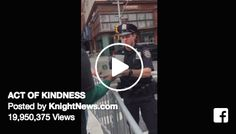 EVERYONE can find a reason to REJOICE even in what appears to be tough times. Check out what this man did to make it a #GreatDay https://www.facebook.com/knightnews/videos/10157392671575527/