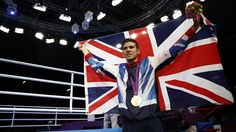 Luke Campbell of Britain celebrates with his Bantamweight boxing gold medal (Reuters) Boxing, Olympics, Britain, London, Celebrities, Gold, Celebs, London England, Celebrity