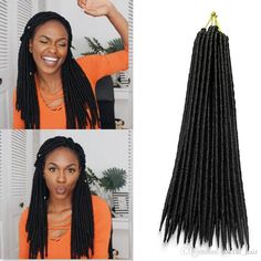 Fauc Locs, Protective Hairstyles, Weave Hairstyles, Natural Hair Styles For Black Women, Long Hair Styles, Braid In Hair Extensions, Hair Shop, Crochet Braids, Synthetic Hair