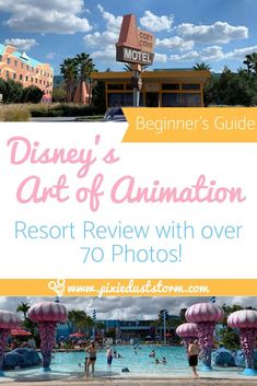 Disney's Art of Animation Resort is a good choice for families that enjoy Disney theming taken to an extreme level and need the extra room to spread out. Disney Value Resorts, Disney World Hotels, Walt Disney World Vacations, Disney Trips, Disney Land, Disney Cruise, Disney Vacation Planning, Disney World Planning, Little Mermaid Room
