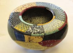 Ceramic bowl by Chris Wolff