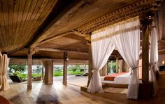 The Bali luxury villas of Khayangan Estate are located on the southern-most tip of the Bukit,