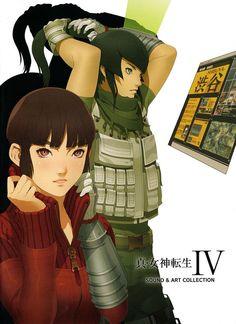 JAPAN Shin Megami Tensei IV Final Official Devil Data