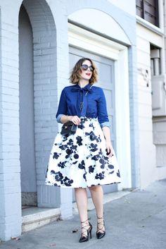 Wannabe Fashion Blogger | The Tamryn Skirt