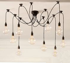Currently owned Pottery Barn Edison Chandelier