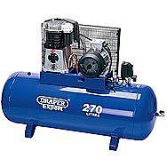 Draper 05638 Expert 270 Litre 415v 5.5kw Belt Driven Air Compressor