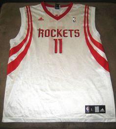 Adidas Yao Ming Jersey 11  NBA Houston Rockets Size Large #adidas #HoustonRockets