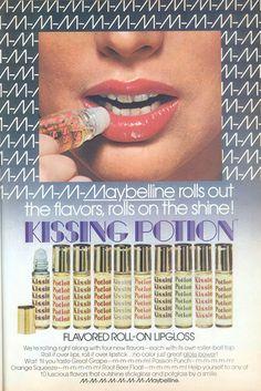 Lip gloss.