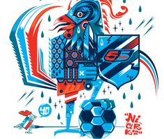 55DSL x Panini World Cup T-Shirt Designs