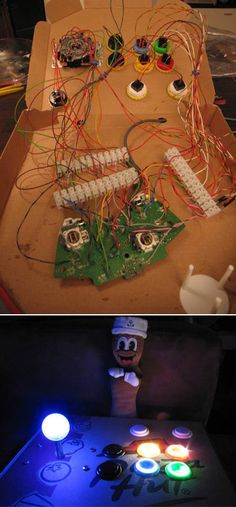 XBox 360 Arcade Game Controller | 15 Awesome Things You Can Make With A Stupid PizzaBox