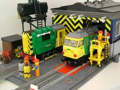 Engine shed by bricktrix on Flickr