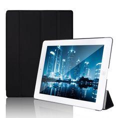 Funda para Apple iPad 2,iPad 3 y Nuevo iPad 4 Smart Case Cover (Negro)
