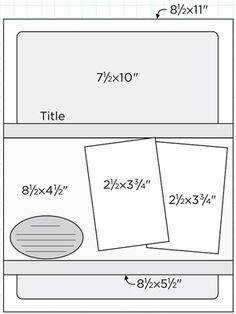 Scrapbook Page Sketch 433
