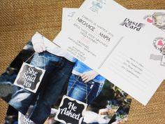 Προσκλητήριο Γάμου Cardpostal