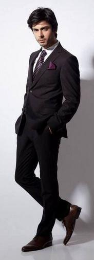Men's Fashion | Suit Up | Fawad Khan | ♥ |