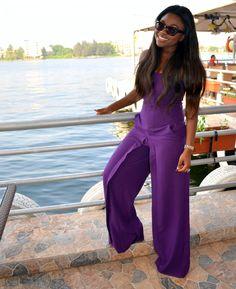 878d313bbabf 21 Best Purple Jumpsuits and Suits images