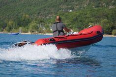 Torqeedo Cruise 10R en test sur le Zodiac Pro 4.20