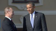 Prezidenti Ruska a USA Vladimir Putin a Barack Obama